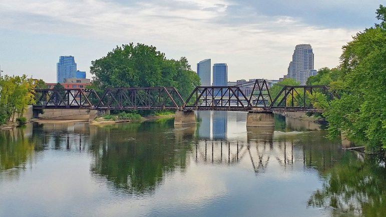 Grand River, Grand Rapids, Michigan